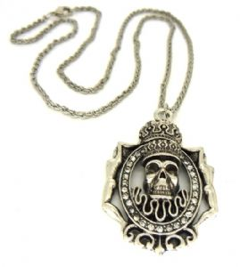 Pirates of the Caribbean David Jones necklace fashion design prop replica